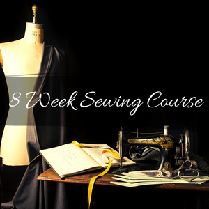 8 Week Sewing Course -  Sign Up Deposit