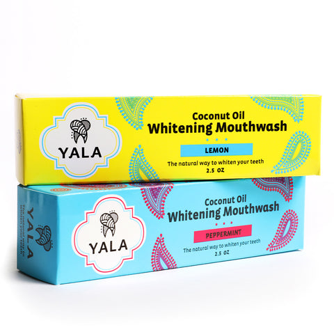 YALA Coconut Oil Whitening Mouthwash Bundle - 60 Day Supply