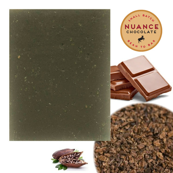 Chocolate Exfoliation Soap made with ingredients from Nuance Chocolate, Fort Collins
