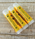 Mango Hemp Natural Handmade Lip Balm (Set of 3)