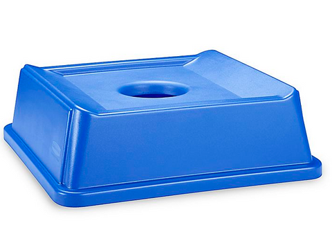 Square Recycling Bins - 35/50 Gallon Bottle Lid