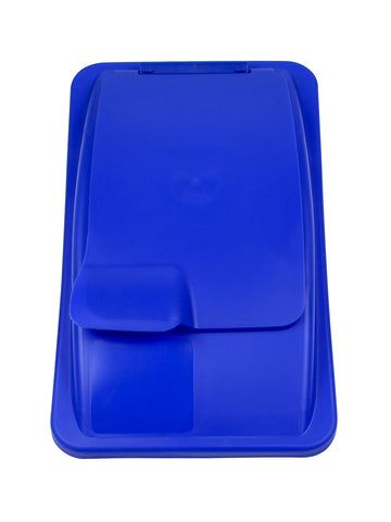 Waste Watcher - Solid Lift Lid (Blue)
