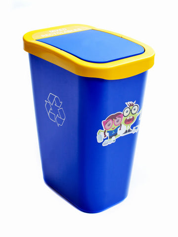 Kid's 10-Gallon Billi Box - Mixed Recyclables