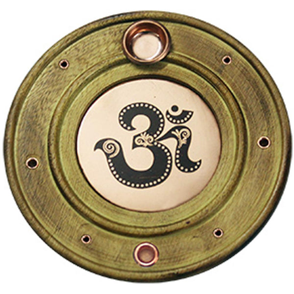 (W49) OM Incense Holder