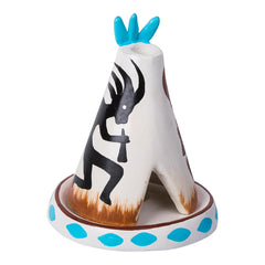 (W62) Clay Cone Burner Teepee