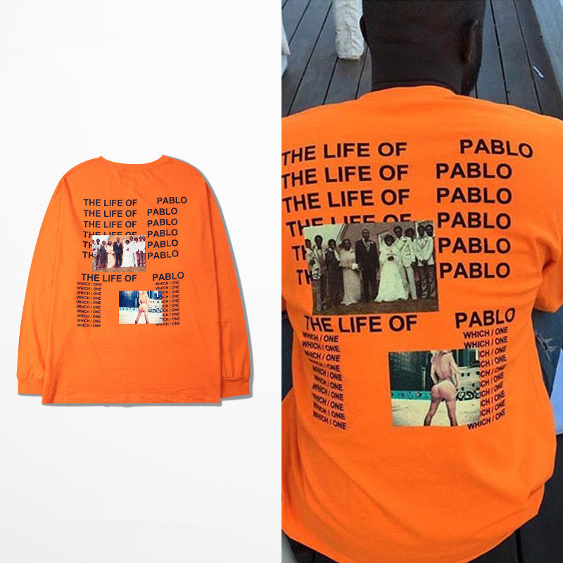 Oversized TLOP Orange Sweatshirt