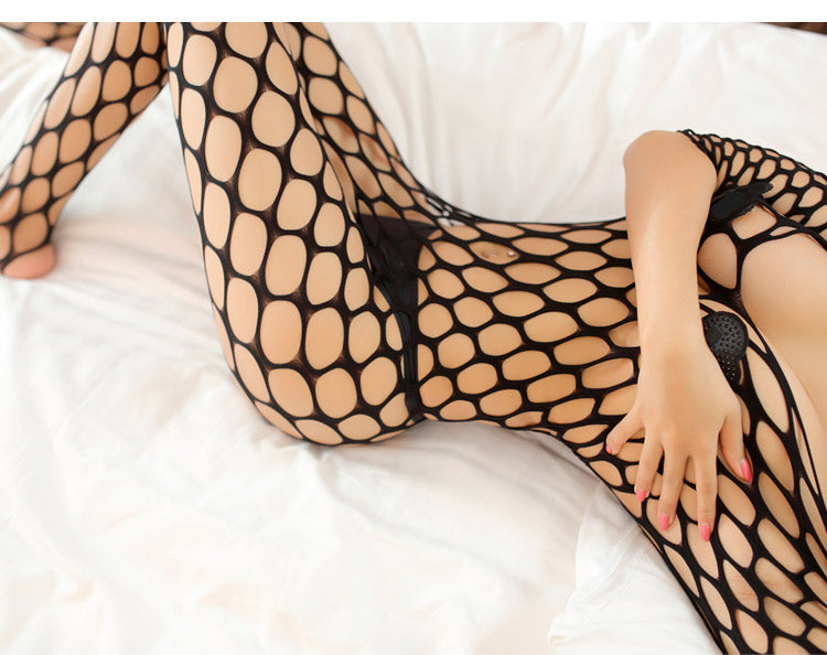 Exotic Fish Net Suit