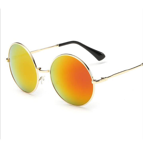 Circle Mirrored Sunglasses