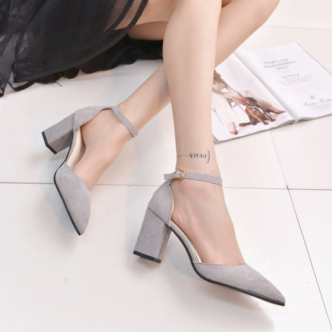 Spring High Heel Pumps