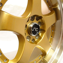 JNC 017 - Gold w/ Machined Lip