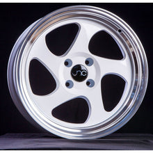 JNC 034 - White w/ Machined Lip