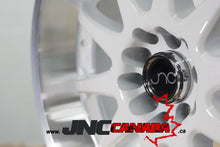 JNC 019 - White w/ Machined Lip