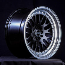 JNC 001 – 17x9 | +20 | 5x100/5x114.3 – Matte Black w/ Machined Lip - BLACK FRIDAY PRICE