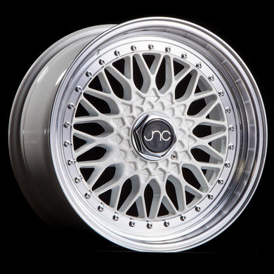 JNC 004 - White w/ Machined Lip