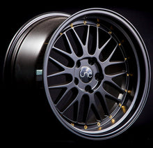 JNC 005 – 18x8 & 18x9 | +34 | 5x120 – Matte Black w/ Gold Rivets - BLACK FRIDAY PRICE
