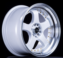 JNC 017 - White w/ Machined Lip