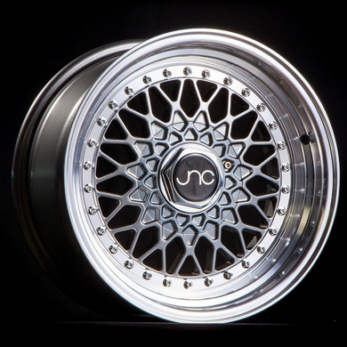 JNC 004 - Gunmetal w/ Machined Lip