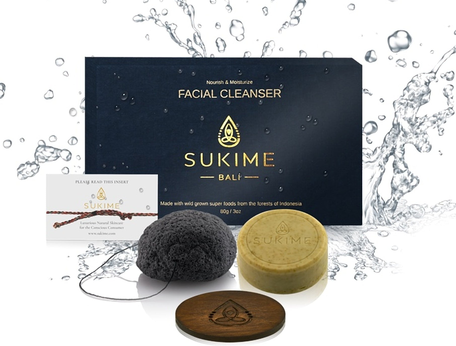 NATURAL FACE CARE GIFT SET - Sukime