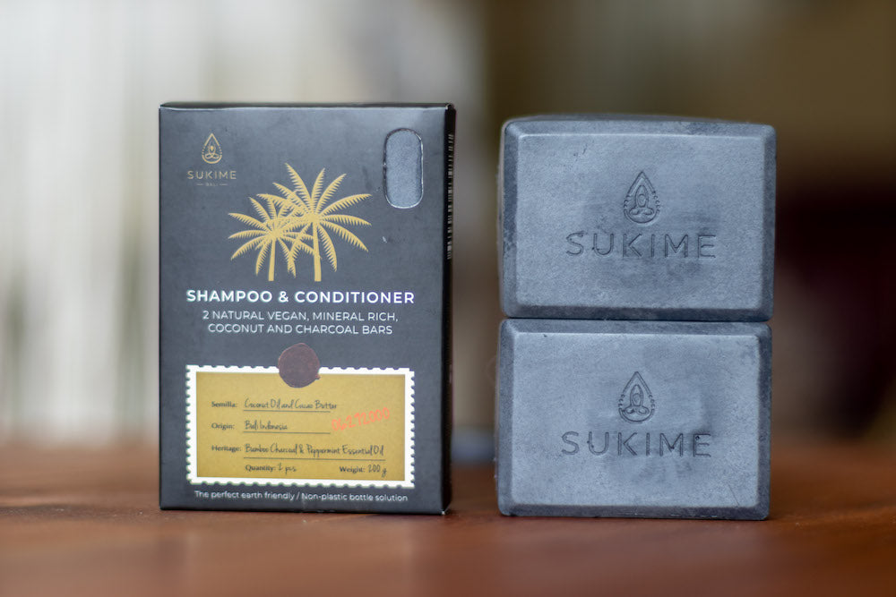 SHAMPOO BARS -  2 Pack - Sukime