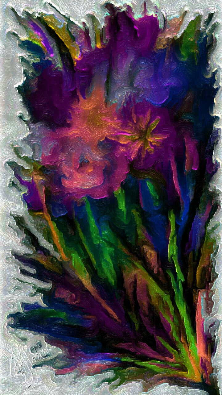 Nothing like Flowers 2 - Art & Paintings for your Homes, Studios, Lobbies, Conference Rooms, Offices etc. , Made in U.S.A!