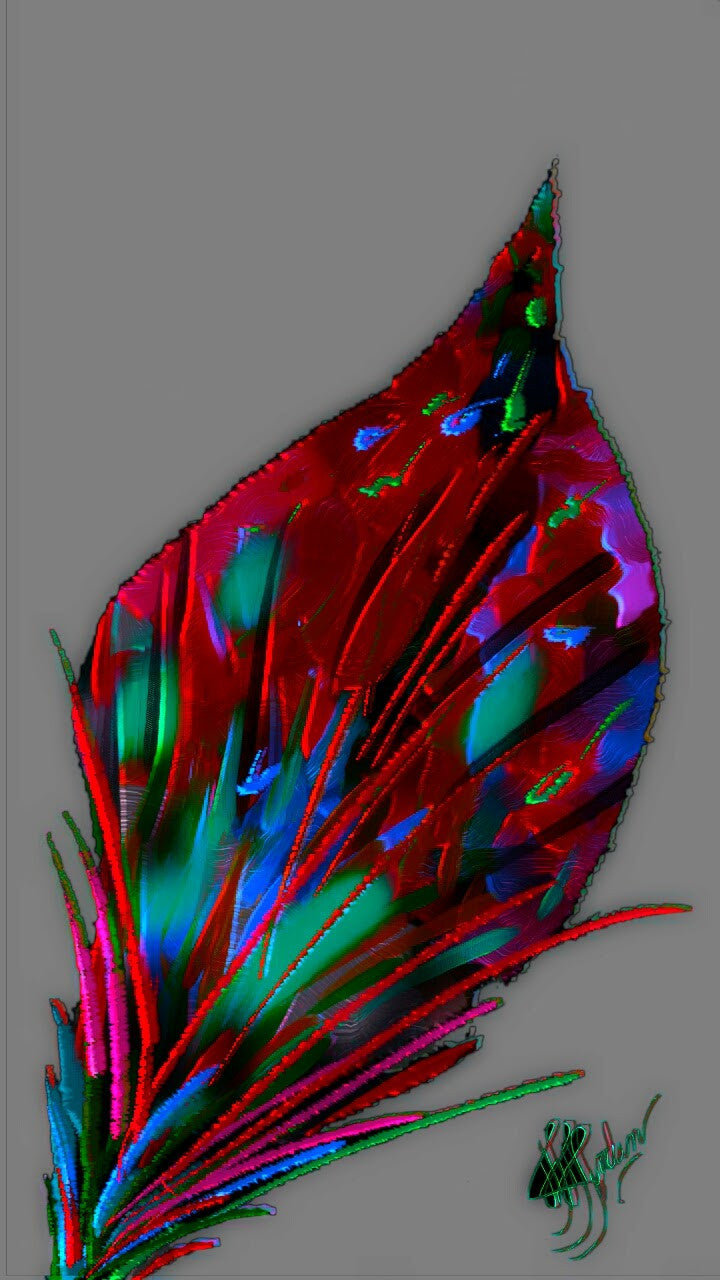 Just a Leaf 4 - Art & Paintings for your Homes, Studios, Lobbies, Conference Rooms, Offices etc. , Made in U.S.A!