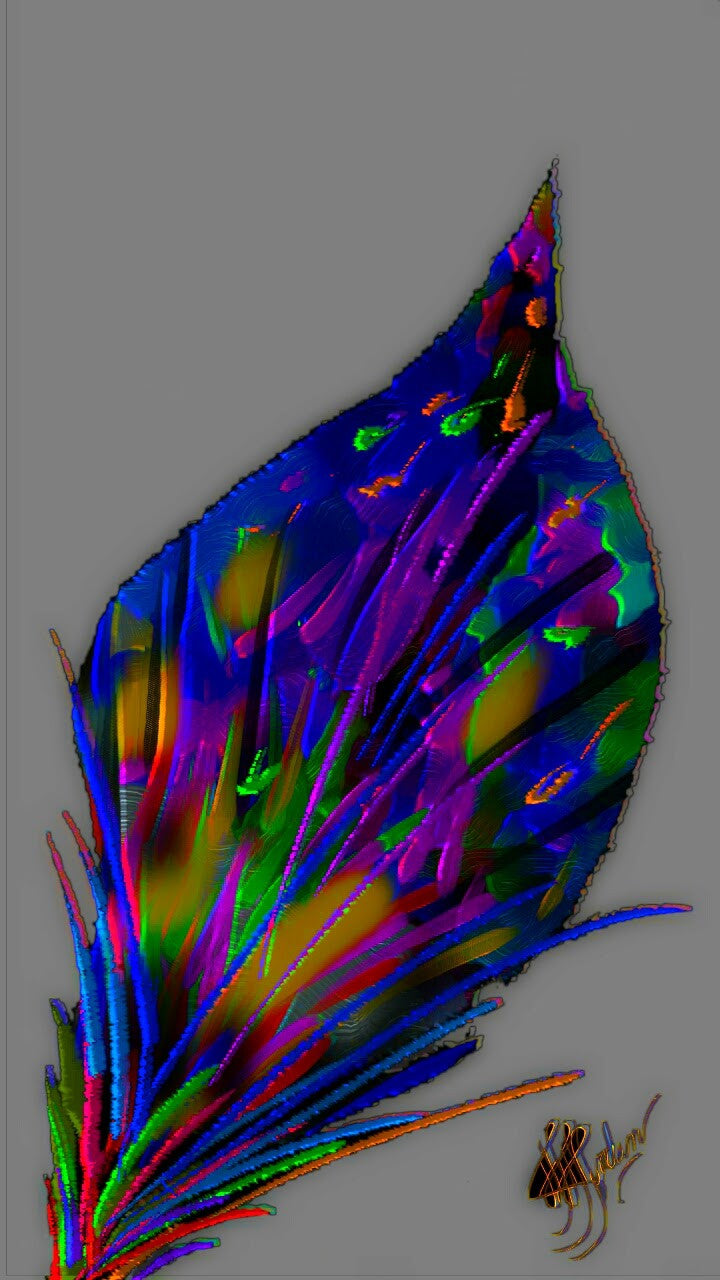 Just a Leaf 3 - Art & Paintings for your Homes, Studios, Lobbies, Conference Rooms, Offices etc. , Made in U.S.A!