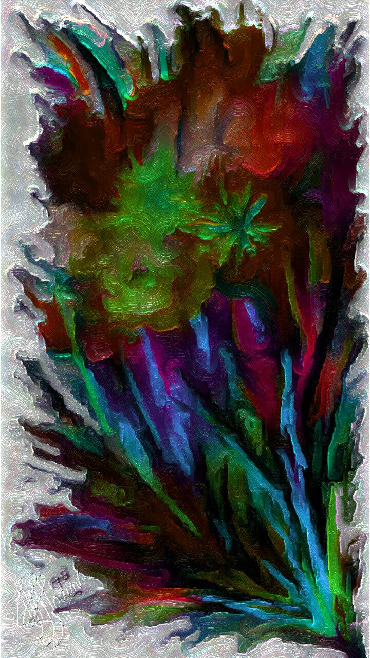 Nothing like Flowers 3 - Art & Paintings for your Homes, Studios, Lobbies, Conference Rooms, Offices etc. , Made in U.S.A!