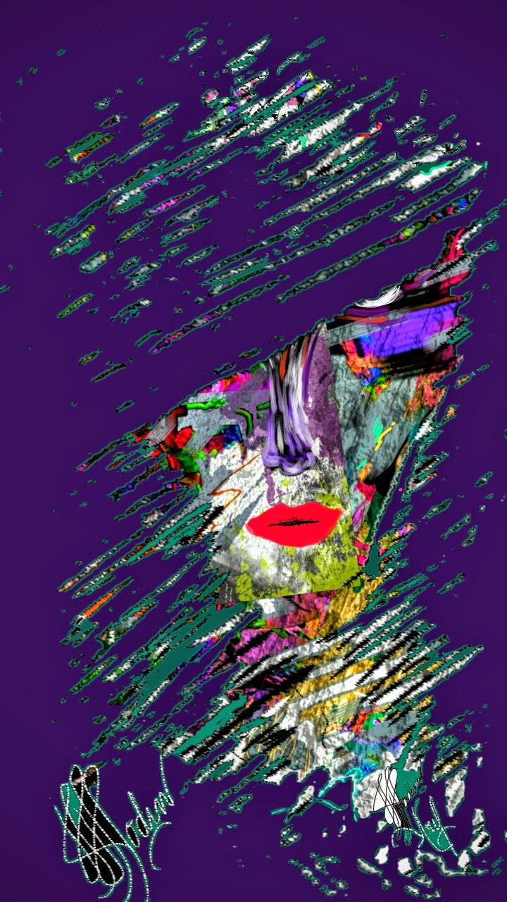 Purple Hazed - Art & Paintings for your Homes, Studios, Lobbies, Conference Rooms, Offices etc. , Made in U.S.A!