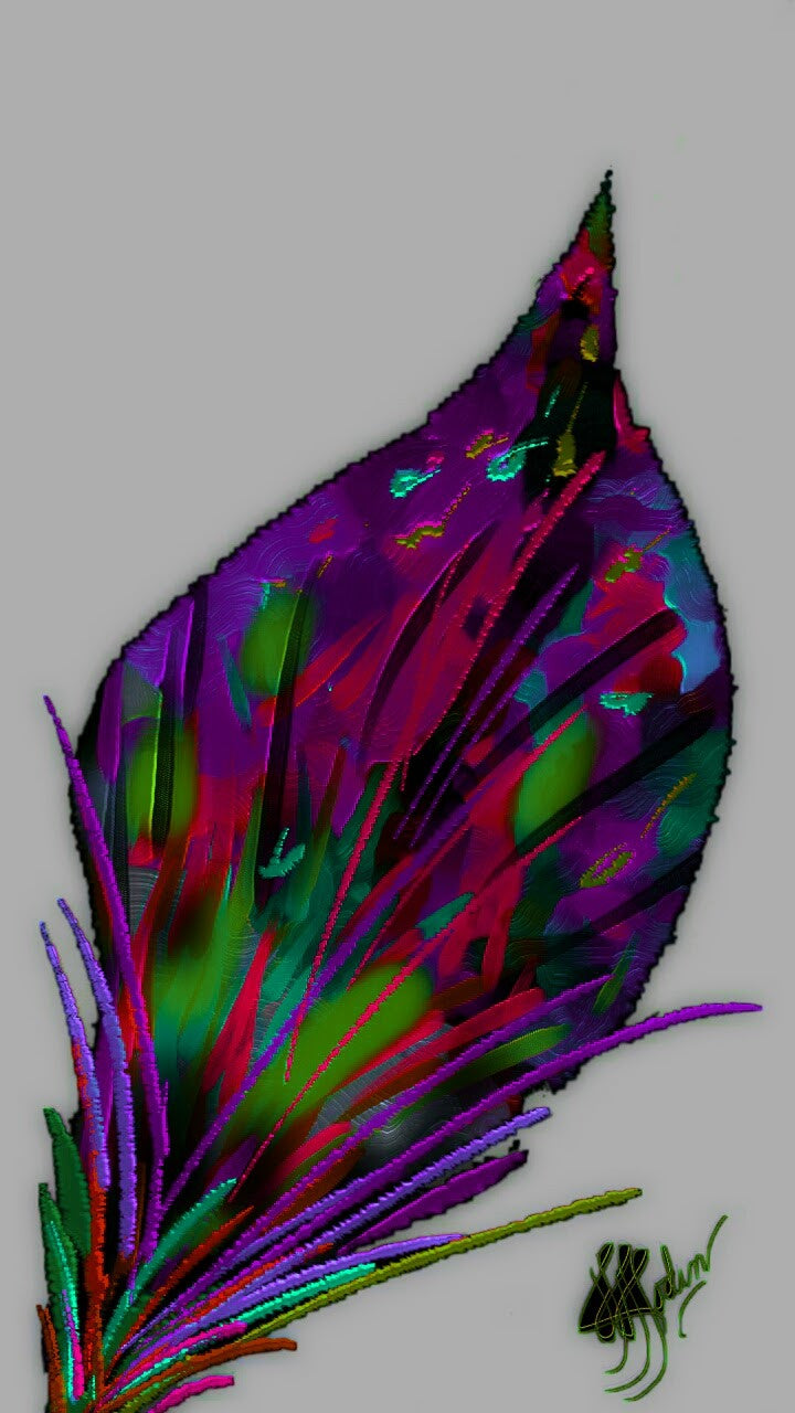 Just a Leaf 2 - Art & Paintings for your Homes, Studios, Lobbies, Conference Rooms, Offices etc. , Made in U.S.A!