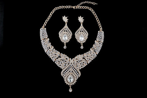 Bridal wedding Necklace Jewelry Set