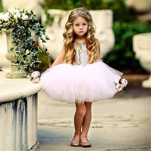 Pink Princess Tulle Dress