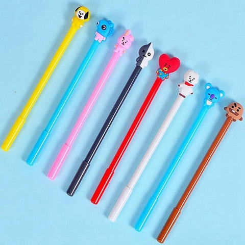 BT21 Stationery Gel Pens