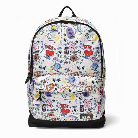 Kpop BT21 Canvas Backpack