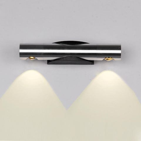 $21.56- Tanbaby 2W 6W Led Wall Lamps 360 Degree Rotation Wall Lighting Fixture White Sconces Lights For Home Arandelas Para Parede