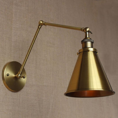 American Vintage Wall Lamp Indoor Lighting Bedside Lamps Iron Wall Lights Industrial Loft Wall Sconce Fixtures For Home E27 220V