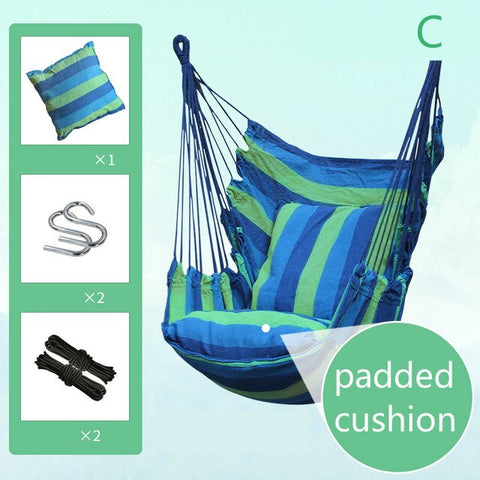 Adult Outdoor Hanging Chair Hammock College Dormitory Swings Indoor Literary Style Children Lazy Swings Outdoor Furniture