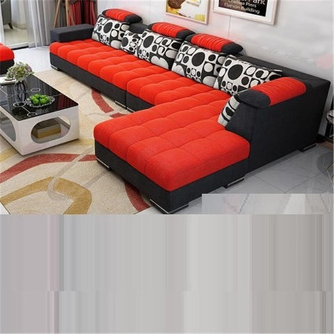 La Casa Sectional Futon Meble Do Salonu Puff Asiento Oturma Grubu Mobilya Couch Set Living Room Furniture Mueble De Sala Sofa