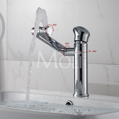 $80.50- Bathroom Faucets Mixer 720 Degree Swivel Easy Wash For Basin Sink Kitchen Faucet