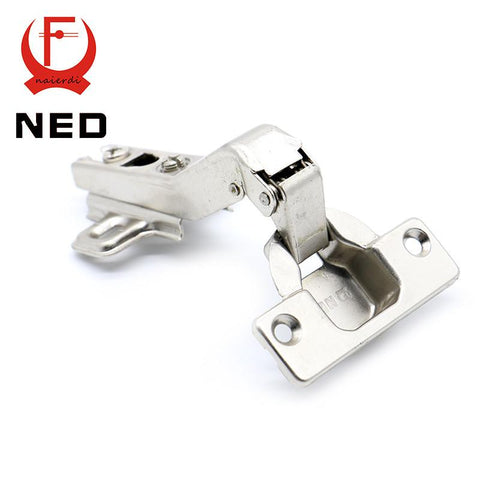 $4.33- Hot Brand Ned 45 Degree Corner Fold Cabinet Door Hinges 45 Angle Hinge Hardware For Home Kitchen Bathroom Cupboard W/ Screws
