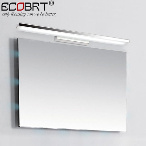 ECOBRT 12W 60CM Long LED Bathroom Wall Lights Modern Style Indoor bedroom Sconces Lighting Fixtures over mirror 110V / 220V