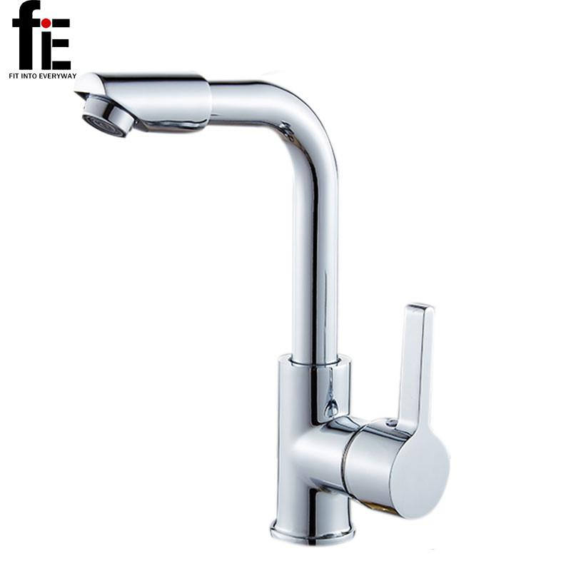 $30.95- Bathroom Faucets Mixer 360 Degree Swivel Easy Wash For Basin Sink Kitchen Faucet