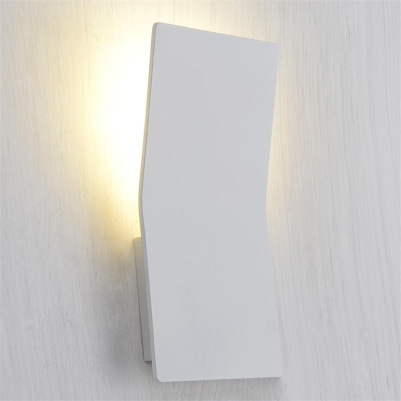 Buy led indoor wall light surface mounted bedside lamps modern 4946 led indoor wall light surface mounted bedside lamps modern acrylic sconce lighting for living aloadofball Image collections