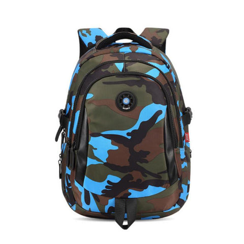 $38.48- Women Travel Backpack Waterproof Nylon Bag Kids Backpack Camouflage Children Backpacks Schoolbag Orthopedic School Bag Bookbag