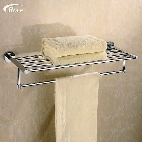 $136.00- Special Offer Towel Rack German Export Towel Rack Stainless Steel Towel Rod Bathroom Towel HighGrade Double Pendant