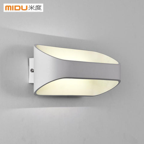 $107.07- M Of Modern Minimalist Led Wall Lamp Bedside Lamp Balcony Stair Lamp Personalized Art Lighting Bedroom Wall