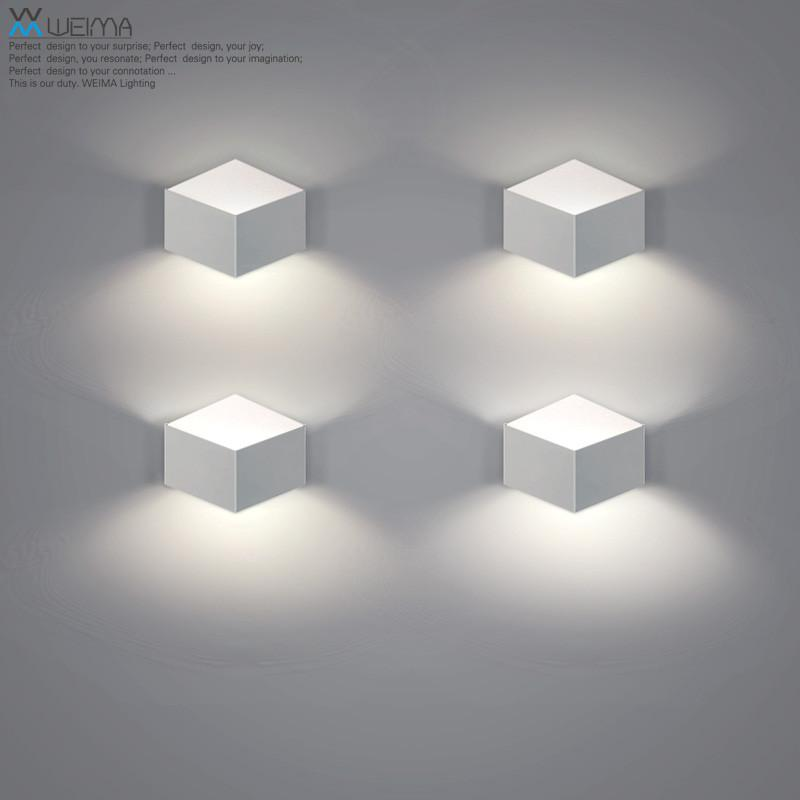 $89.36- Wilma Nordic Art Led Personality Of Modern Minimalist Living Room Bedroom Lamp Bedside Lamp Aisle Porch Lamp