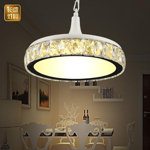 led dining room lamp crystal restaurant pendant lamp single head modern minimalist dining room dining table dining table - Led Dining Room Light Fixtures