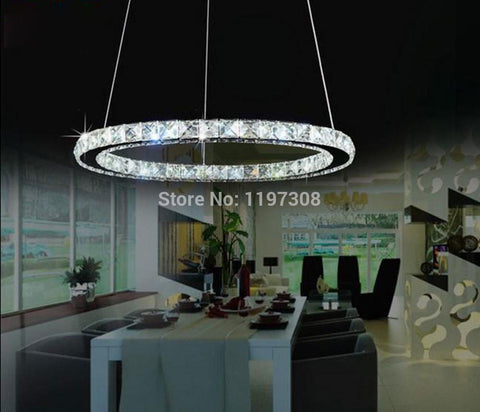 $63.00- Modern Led Crystal Chandelier Lights Lamp Fixture Lustres Bedroom Kitchen D20Cm D30Cm D40Cm D50Cm D60Cm D70Cm Lampada Led Lights