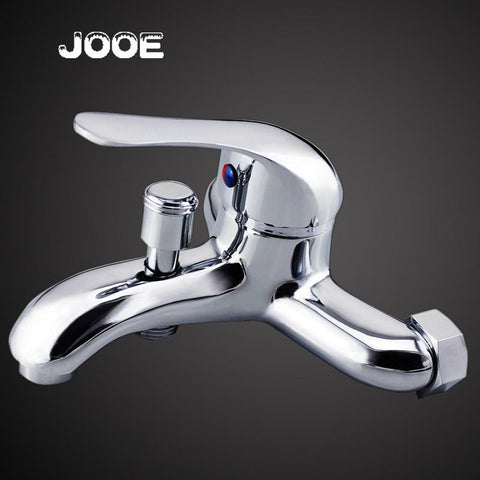 Bathroom In Wall Faucet Bath Shower Mixer Solid Brass Chrome Covert Single Function Actuated In Wall Valve 096