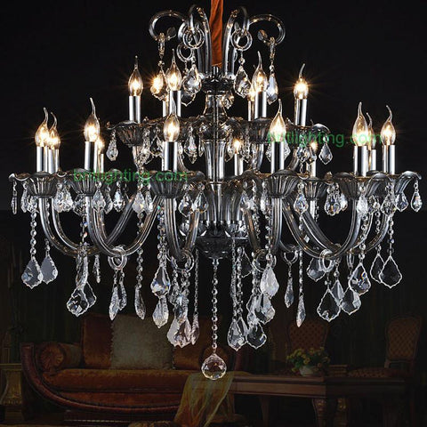 $944.00- Modern Crystal Chandelier Living Room Bohemian Elegant Lighting Villa Hall Double Chandelier Luxury Crystal Candle Chandelier